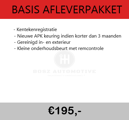 BASIS AFLEVERPAKKET