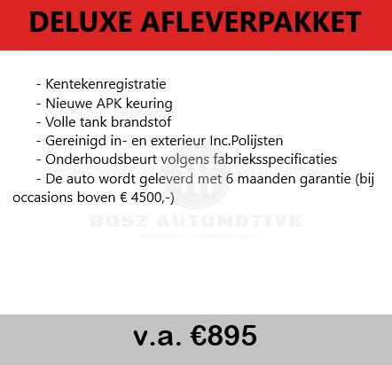 deluxe afleverpakket