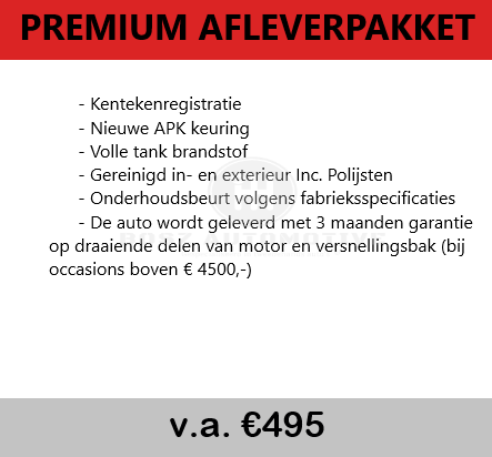 premium afleverpakket